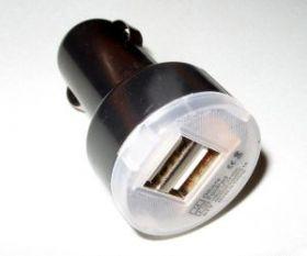 2port USB адаптер в прикуриватель автомобиля